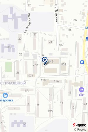 РАДИОКОМПАНИЯ ИМПУЛЬС на карте Искитима