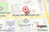 Схема проезда до компании Искитимские Железобетонные Изделия №5 в Барнауле