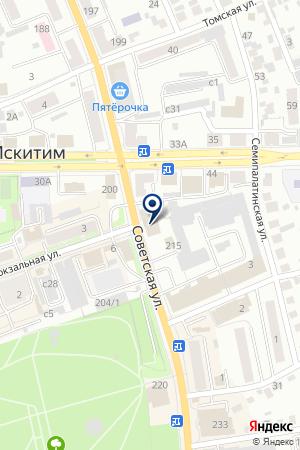АТЕЛЬЕ ЗИМА на карте Искитима