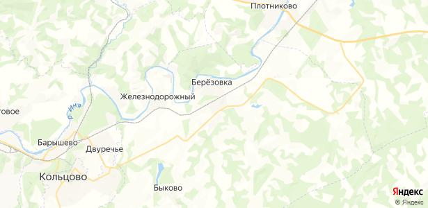 Шелковичиха на карте