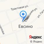 Вероника на карте Новосибирска