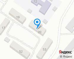 Схема местоположения почтового отделения 633236
