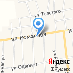 Орешек на карте Черепаново