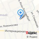 Средняя общеобразовательная школа №4 на карте Черепаново