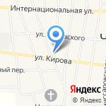Кировский на карте Черепаново