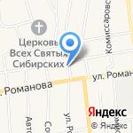 Охрана МВД России на карте Черепаново