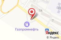 Схема проезда до компании Газпромнефть-Новосибирск в Линево