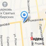 Магазин крепежа на карте Черепаново