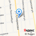 Пальмира на карте Черепаново