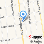 Час-пик на карте Черепаново