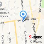 Черепановское отделение вневедомственной охраны на карте Черепаново