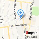МДМ Банк на карте Черепаново