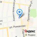 Подземка на карте Черепаново