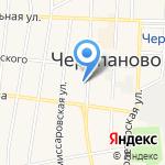 Администрация г. Черепаново на карте Черепаново