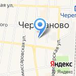 Отдел МВД России по Черепановскому району на карте Черепаново