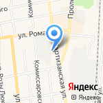 ГАЗ на карте Черепаново