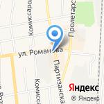 Хмельная бочка на карте Черепаново