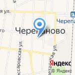 Дока сибири на карте Черепаново