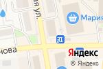 Схема проезда до компании Анжелика в Черепаново