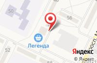 Схема проезда до компании Жемчужина в Линево