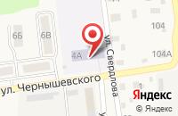 Схема проезда до компании Тополек в Черепаново