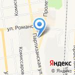 Березка на карте Черепаново