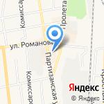 Школьник на карте Черепаново