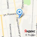 Магнит Косметик на карте Черепаново