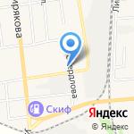 Тополек на карте Черепаново