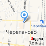 Новосибирскэнергосбыт на карте Черепаново