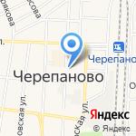 Средняя общеобразовательная школа №3 на карте Черепаново