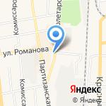Русская кухня на карте Черепаново