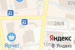 Схема проезда до компании Магазин в Черепаново