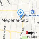 Почтовое отделение №520 на карте Черепаново