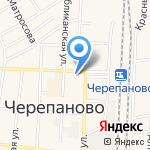 Аникс на карте Черепаново