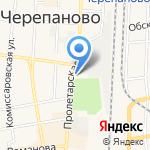 Сибирский огонь на карте Черепаново