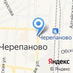 Оптика на карте Черепаново