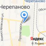Парикмахерская на карте Черепаново