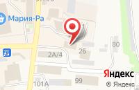 Схема проезда до компании Гарант в Черепаново