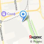 НОВОМЕТ на карте Черепаново
