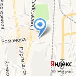 Магазин мебельной фурнитуры на карте Черепаново