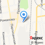 Розничный магазин техники на карте Черепаново