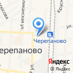 Финист на карте Черепаново
