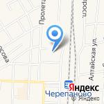 Железнодорожная столовая на карте Черепаново