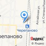 Торговый центр на карте Черепаново
