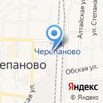 Железнодорожный вокзал на карте Черепаново