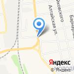 База строительных материалов на карте Черепаново