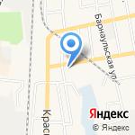 Салон ритуальных услуг на карте Черепаново