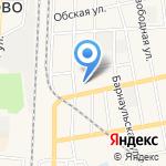 Средняя общеобразовательная школа №1 на карте Черепаново
