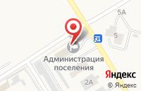 Схема проезда до компании Трестовская пекарня в Линево